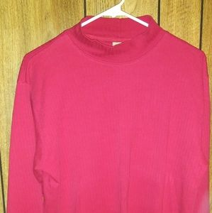 Mountain Lake red long sleeve size L